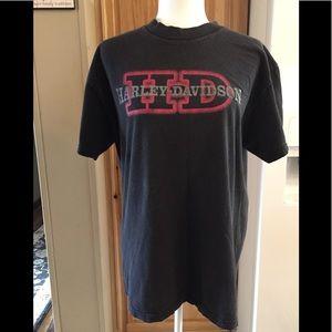 👀 Harley Davidson Men's T-shirt Sz L